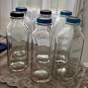 Sealed glass bottle(1L)